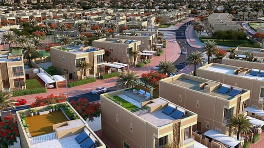 فیلا 6 غرف نوم للبيع في دبي لاند، دبي - Entire 6 Bedroom 7 Bathroom House -Heart of Dubai