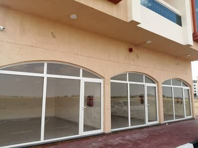 For rent super-finishing shops with open view of the high area Ajman