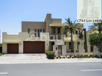 6 Bedroom Villa for Sale in Saadiyat Island, Abu Dhabi - Modern Executive  6 BR Villa Swimming-pool-For Sale  11.9M