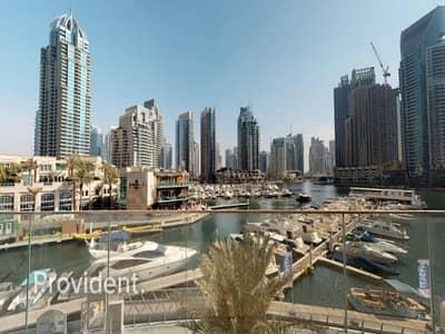 فیلا 4 غرف نوم للايجار في دبي مارينا، دبي - Extra Ordinary 4BR Corner Villa with Stunning View