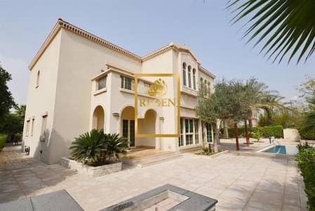 4 Bedroom Villa for Sale in Jumeirah Islands, Dubai - Entertainment Foyer ! Four Bedroom Hall + Family / Study Room Villa in Jumeirah Islands