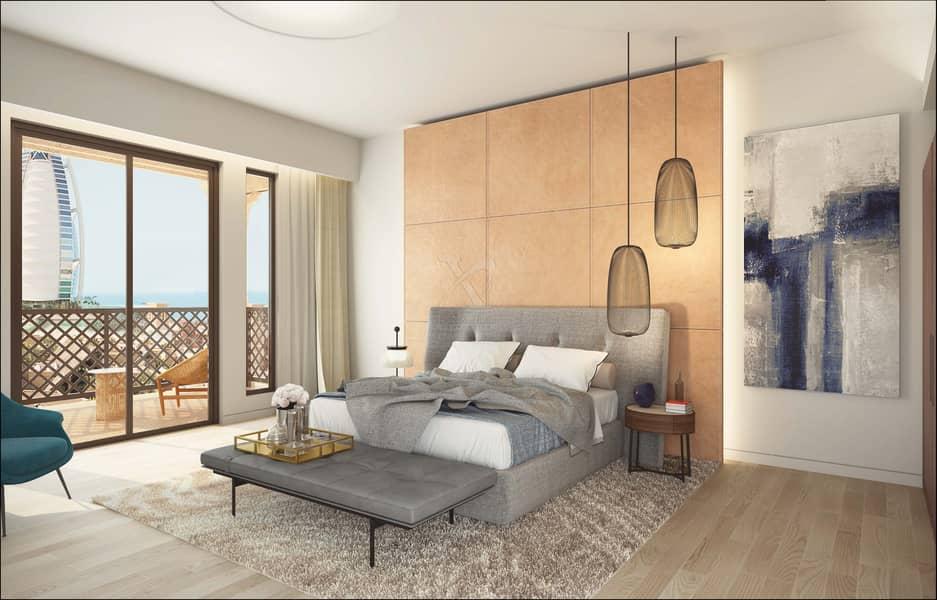 Luxury 1 bedroom | 4 years payment plan | Burj Al Arab view