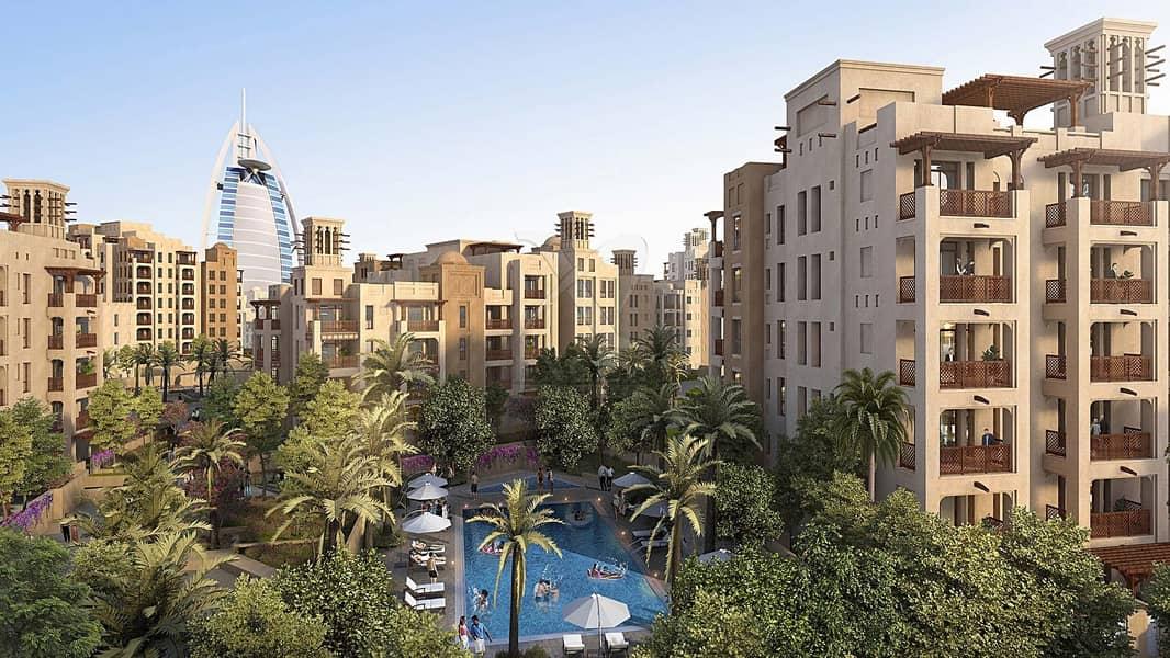 21 Luxury 1 bedroom | 4 years payment plan | Burj Al Arab view