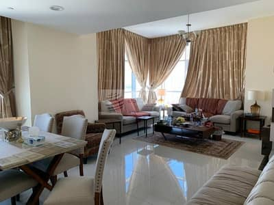 فلیٹ 2 غرفة نوم للايجار في مثلث قرية الجميرا (JVT)، دبي - Fully Furnished 2BR | On Mid Floor | Al Manara JVT