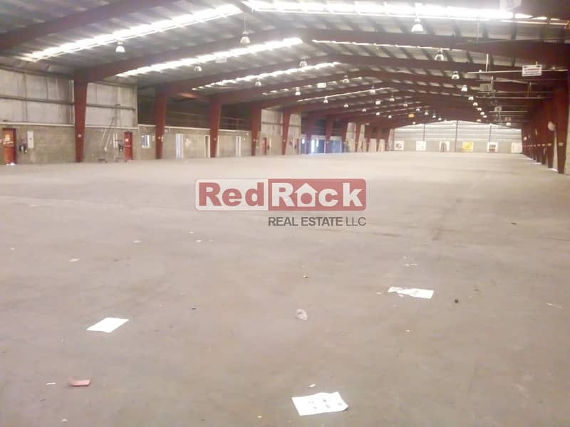 50000 Sqft Warehouse cum Offices with 250 KW Power in DIP