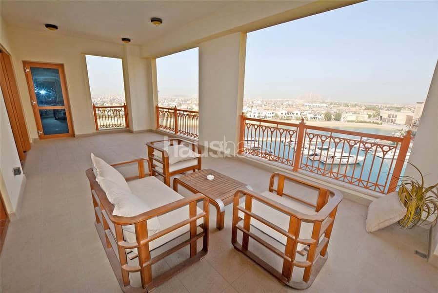 2 Full Marina View | Large Terrace | Multiple Cheque