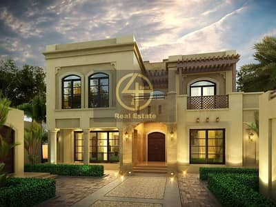 8 Bedroom Villa for Sale in Shakhbout City (Khalifa City B), Abu Dhabi - #LIVE VIDEO VIEWING! Ultra Lux Mansion 8 BR + Maid's   4 Majlis