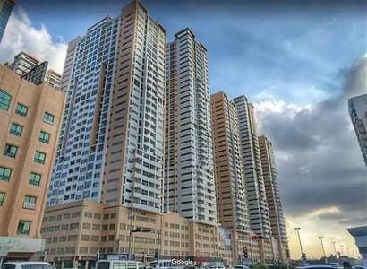شقة 2 غرفة نوم للايجار في الصوان، عجمان - شقة في أبراج عجمان ون الصوان 2 غرف 36000 درهم - 4560024