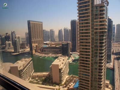 2 Bedroom Apartment for Sale in Jumeirah Beach Residence (JBR), Dubai - Mid Floor | Partial Sea and Marina | Vacant