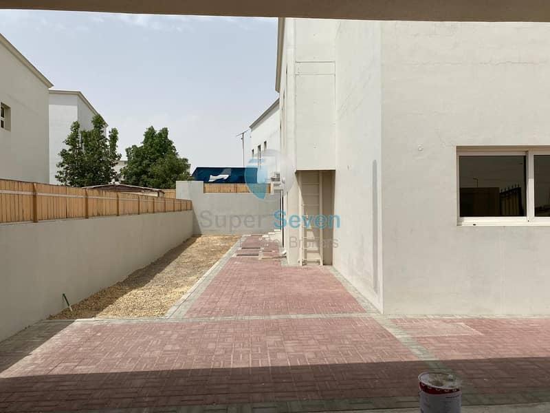 14 Independent 5- Bedroom villa for rent Barashi Sharjah Call (Mazhar)