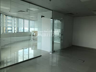 Office for Rent in Business Bay, Dubai - 1002 sq.ft Fitted office with Lake view