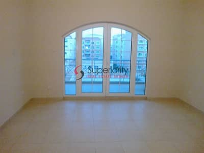 2 Bedroom Flat for Rent in Dubai Investment Park (DIP), Dubai - Super Deal  Swimming Pool view| Spacious 2 BR + Maid's in Ritaj| with Balcony