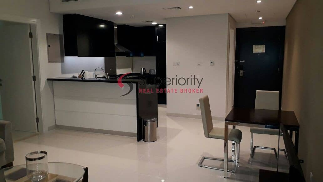 2 Rented - Affordable | 1BR for Sale in Damac Cour Jardin - Burj Khalifa View
