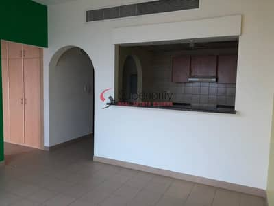 Studio for Rent in Dubai Sports City, Dubai - Full Golf Course View | Best Lay out of Studio in Tennis Tower