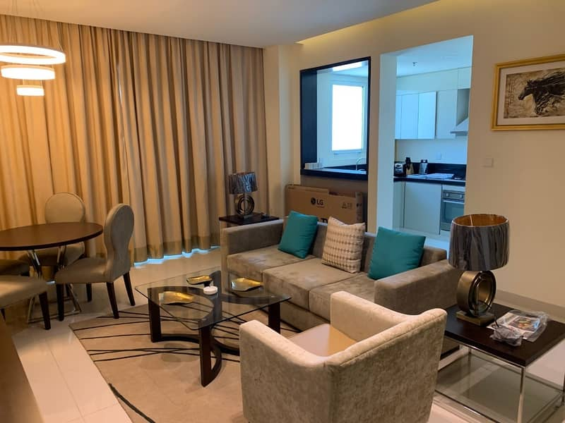 Upgraded 1 Bedroom   Furnished Apartment   Tenora in Dubai South