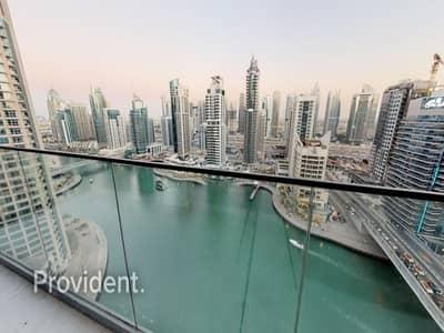 فلیٹ 3 غرف نوم للبيع في دبي مارينا، دبي - Unique 3BR+M|Below OP|High Return|Motivated Seller