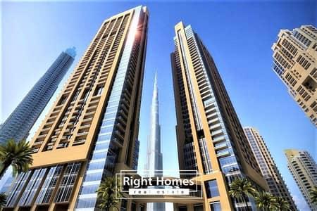 شقة 4 غرف نوم للبيع في وسط مدينة دبي، دبي - Most Affordable- Burj Khalifa View 3 BR+M | Ready in 2020