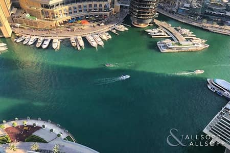 3 Bedroom Flat for Rent in Dubai Marina, Dubai - Full Marina View | 3 Bed |  Available Now