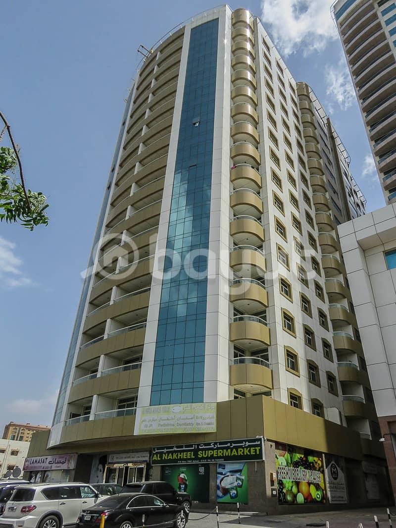 Breathtaking Sea View Balconies for our 3Bedroom Apartment in Al Shorafa Tower 1, Ajman
