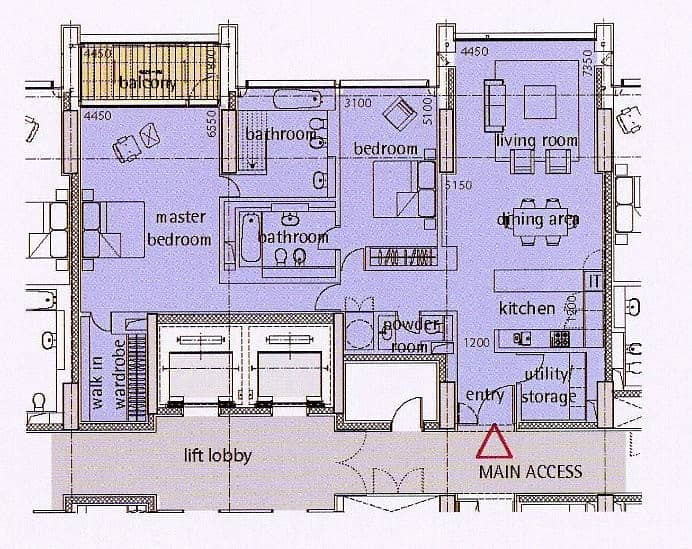 10 Two Bedroom | Middle Layout | Upgraded