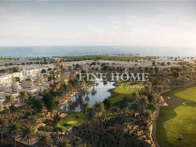 3 Bedroom Townhouse for Sale in Yas Island, Abu Dhabi - No Commission ! Park view Townhouse 3 BR