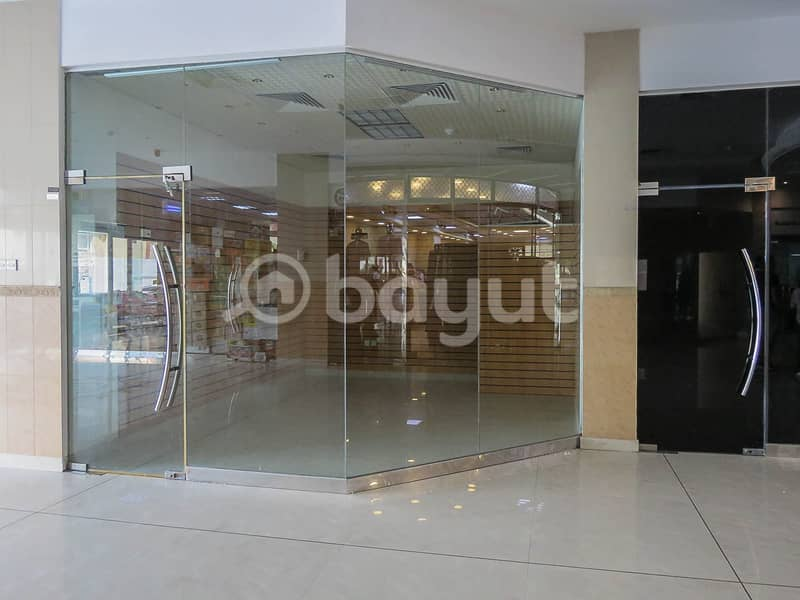 AVAILABLE COMMERCIAL SPACE/OFFICES IN AL SHORAFA TOWER 1, AL RUMAILA 3, AJMAN