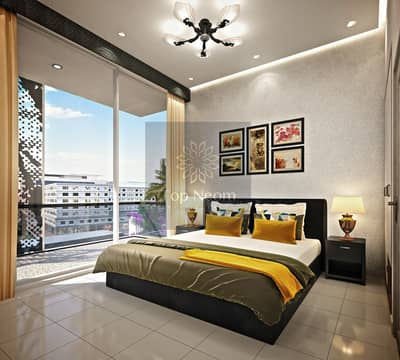 1 Bedroom Apartment for Sale in Arjan, Dubai - Apartment with comfortable installments for 6 years in AlArjan
