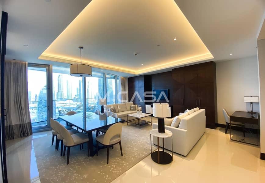 2 Genuine listing || Furnished || High Floor.