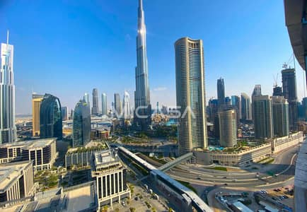 3 Bedroom Hotel Apartment for Sale in Downtown Dubai, Dubai - Genuine listing || Furnished || Extravagant views.