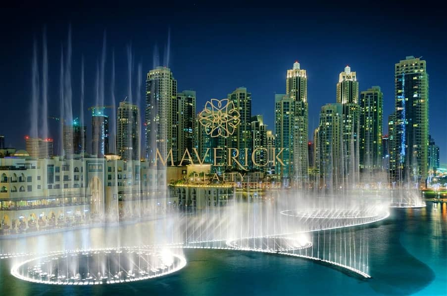 23 Safe to View - Fountain View 2BR | Fully Furnished | Burj Khalifa