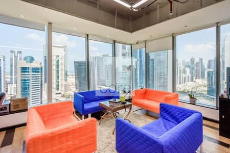 Office for Rent in Business Bay, Dubai - On High Floor | Available Fitted Office