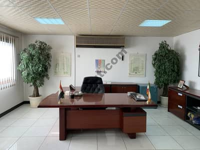 DIRECT FROM LANDLORD, NO COMMISSION! G+M Office with Storage In Umm Ramool, Near Emirates Metro Station