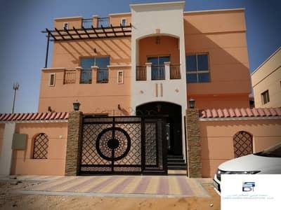 فیلا 5 غرف نوم للبيع في المويهات، عجمان - فيلا  تصميم  فخم  قريبة من شارع الشيخ عمار و جميع الخدمات بأرقى مناطق (عجمان) للتملك الحر لجميع الجنسيات