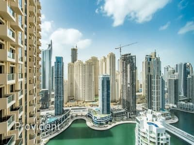 1 Bedroom Hotel Apartment for Sale in Dubai Marina, Dubai - Spectacular view of Marina | Fully furnished 1 B/R