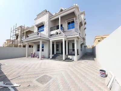 6 Bedroom Villa for Sale in Al Mowaihat, Ajman - For sale 6-room villa + roof in a very privileged location with the possibility of bank financing