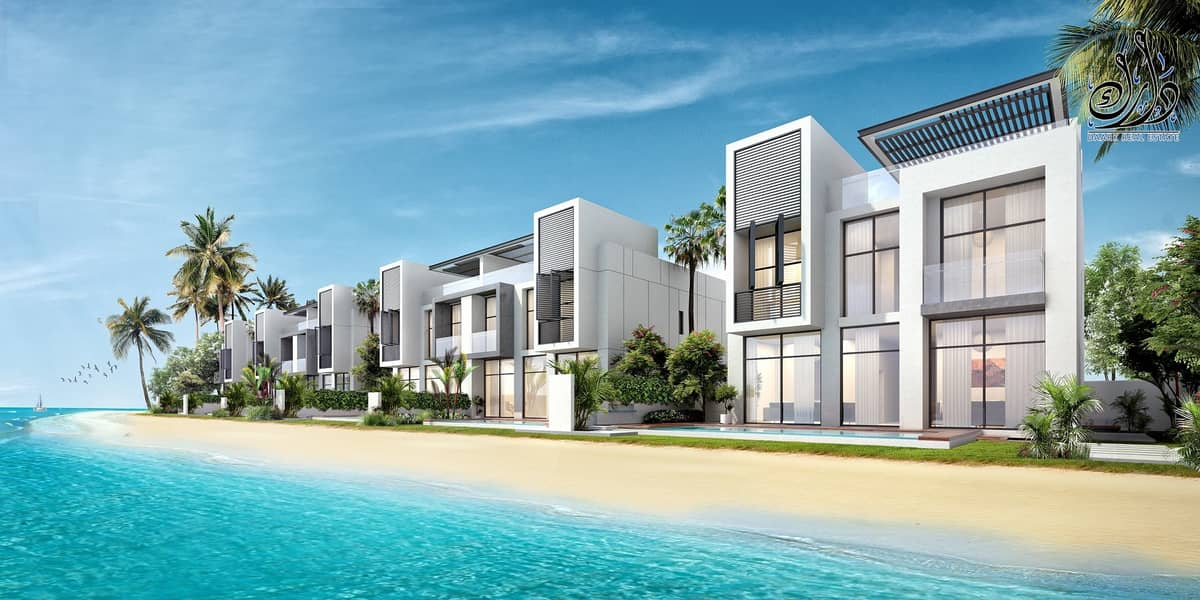 Beach Views | Stylish Villa Waterfront | Easy Payment Plan |  5 Years Ptn