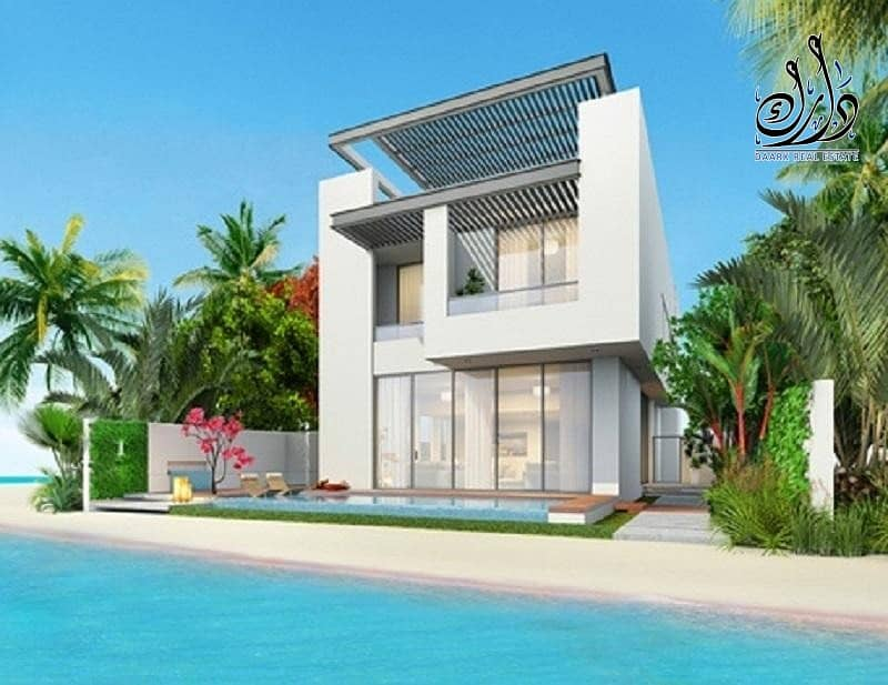 2 Beach Views | Stylish Villa Waterfront | Easy Payment Plan |  5 Years Ptn