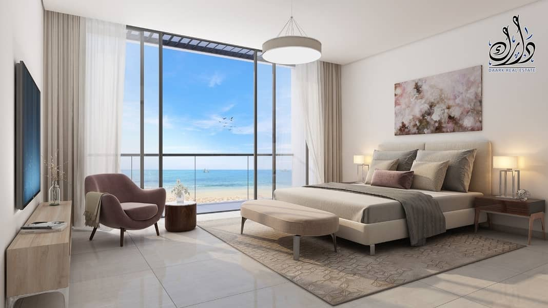 15 Beach Views | Stylish Villa Waterfront | Easy Payment Plan |  5 Years Ptn
