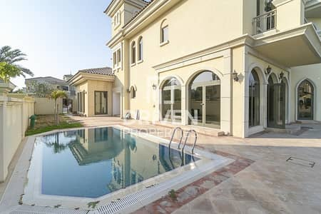 فیلا 4 غرف نوم للايجار في نخلة جميرا، دبي - Atrium Entry Villa with Burj Al Arab View