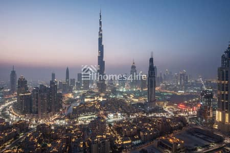3 Bedroom Apartment for Sale in Downtown Dubai, Dubai - Lowest Price ever | Full Burj View | Low service charges