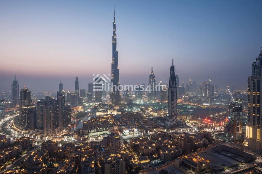 Lowest Price ever | Full Burj View | Low service charges