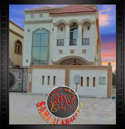 5 Bedroom Villa for Rent in Al Rawda, Ajman - Villa for rent first inhabitant - central air conditioning
