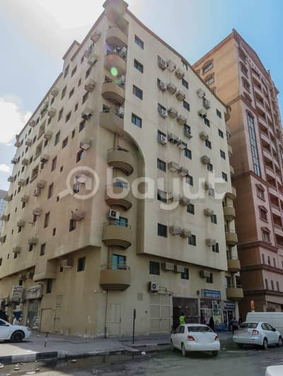 Studio for Rent in Al Nuaimiya, Ajman - Al Muhairi Real Estate LLC offers you with affordable studio apartment in Al Mesbah Building in Al Nuaimiya 2.
