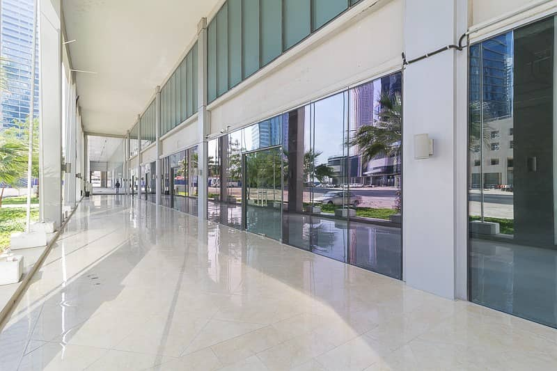 2 Shell and Core Retail Walking Distance to Metro