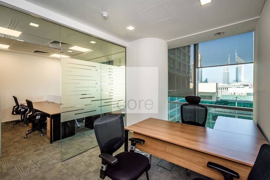 Furnished Office | Prime Location | Mid Floor