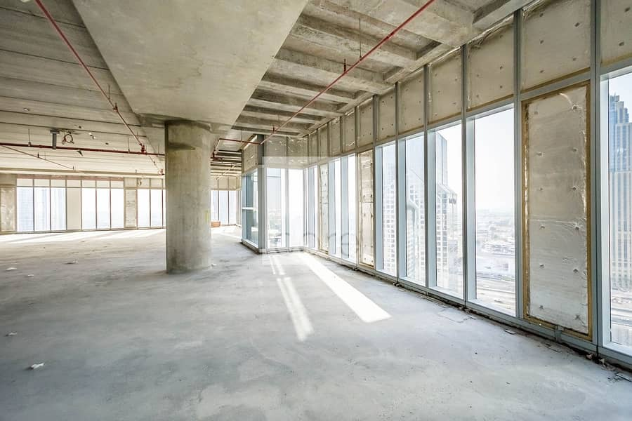 Prime Location | Shell and Core Full Floor