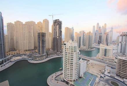 استوديو  للبيع في دبي مارينا، دبي - Hotel Pool Marina View- Studio Apartment