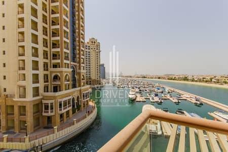 Studio for Sale in Palm Jumeirah, Dubai - High floor