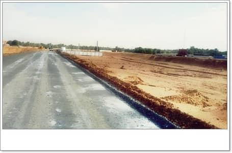 Plot for Sale in Al Zahia, Ajman - land for sale new plan  al zahya ajman new plane paved street