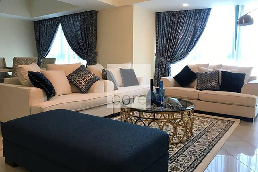 Sea Views | Hotel Apartment | Maids Room
